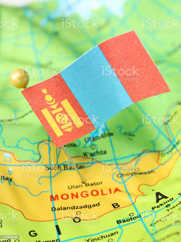 Mongolia stock photo