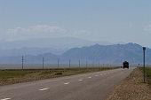 Mongolia road