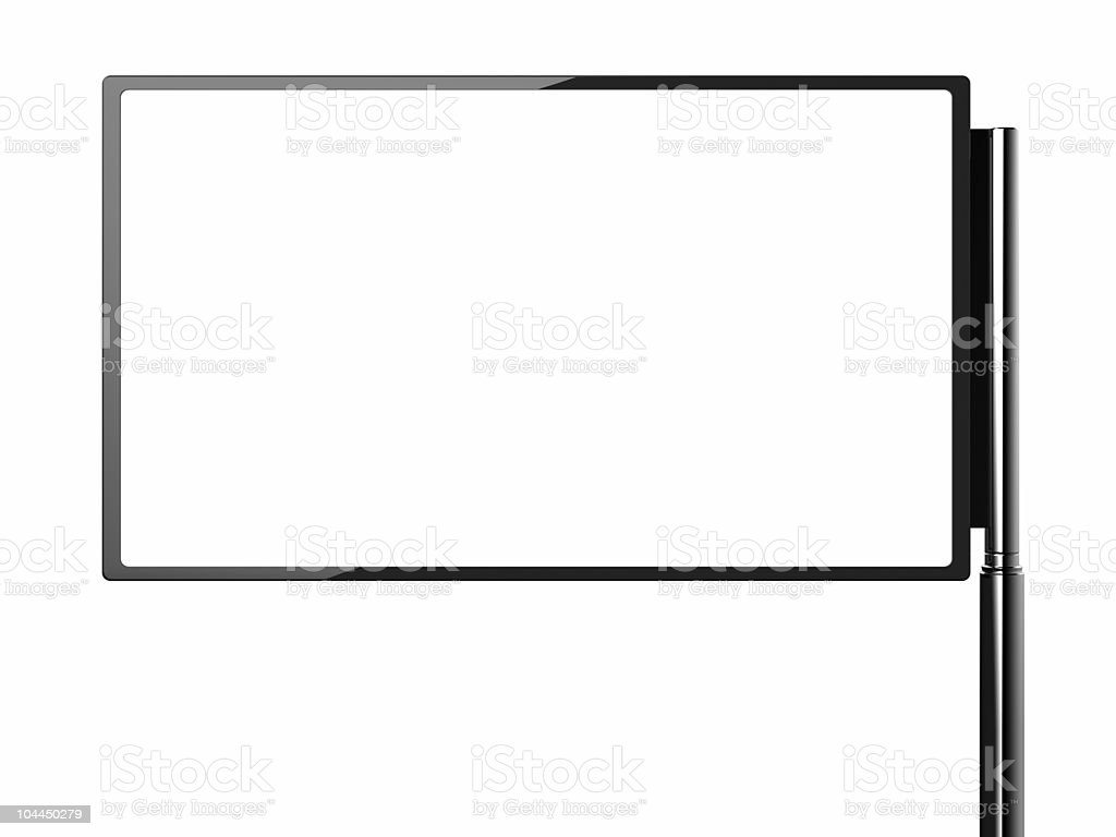 LCD TV / Monitor royalty-free stock photo