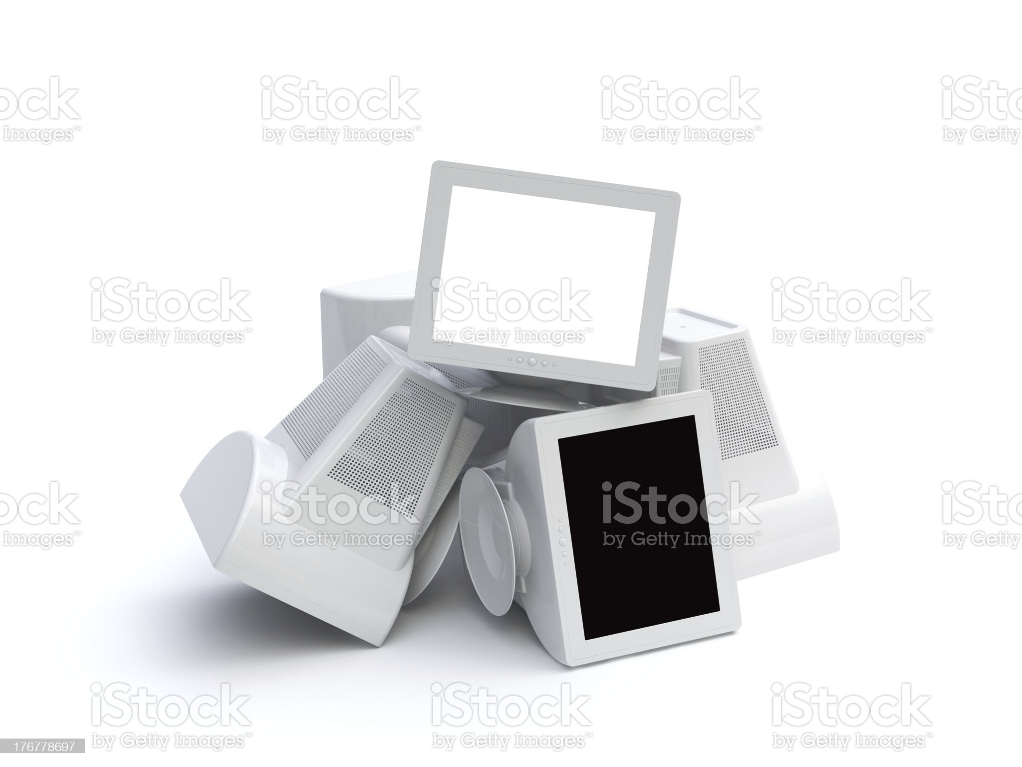 monitor royalty-free stock photo