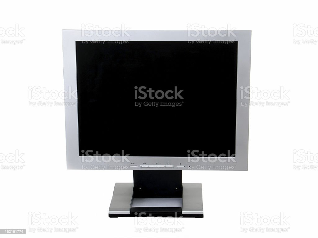 TFT Monitor royalty-free stock photo