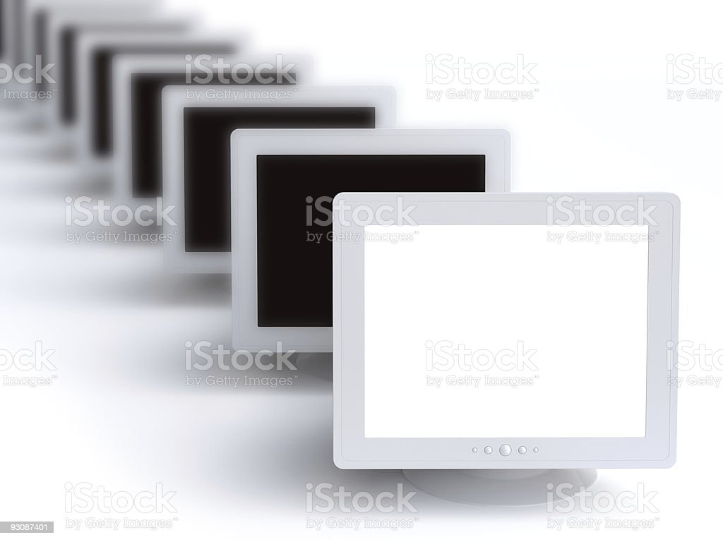 monitor royalty-free stock vector art