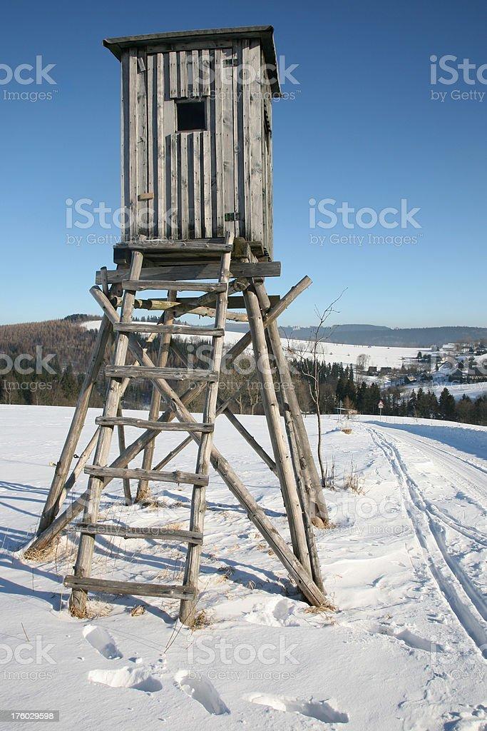 Monitoring lodge stock photo