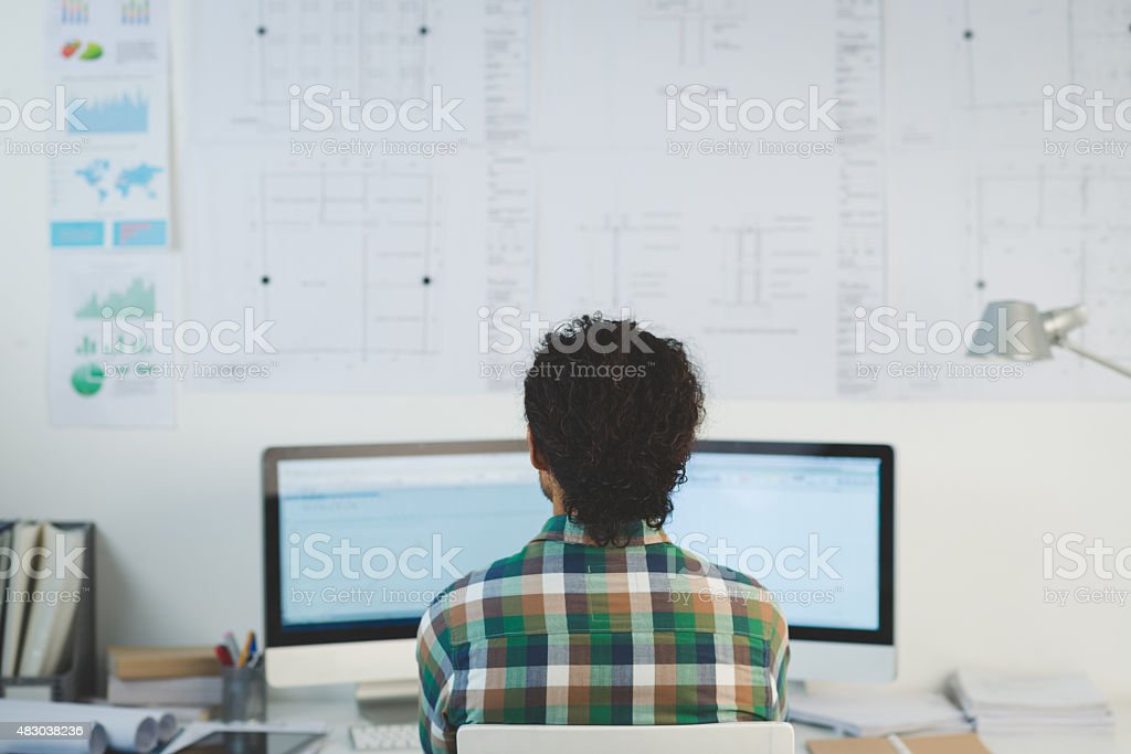 Monitoring trends stock photo