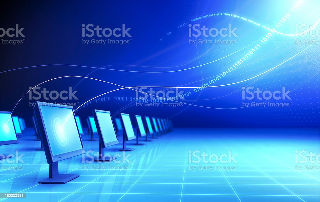 Monitors royalty-free stock photo