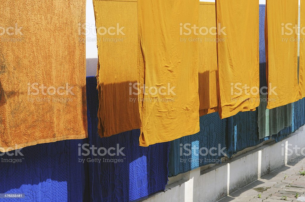 monk cloth royalty-free stock photo