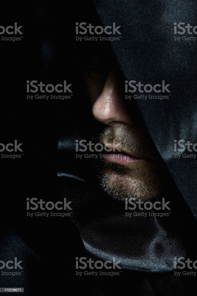 Monk royalty-free stock photo