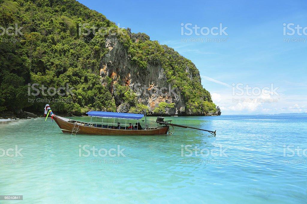 Monkey Bay royalty-free stock photo