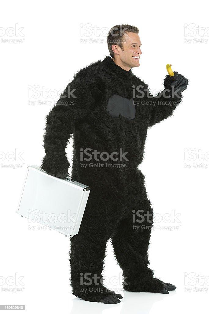Monkey business...! royalty-free stock photo