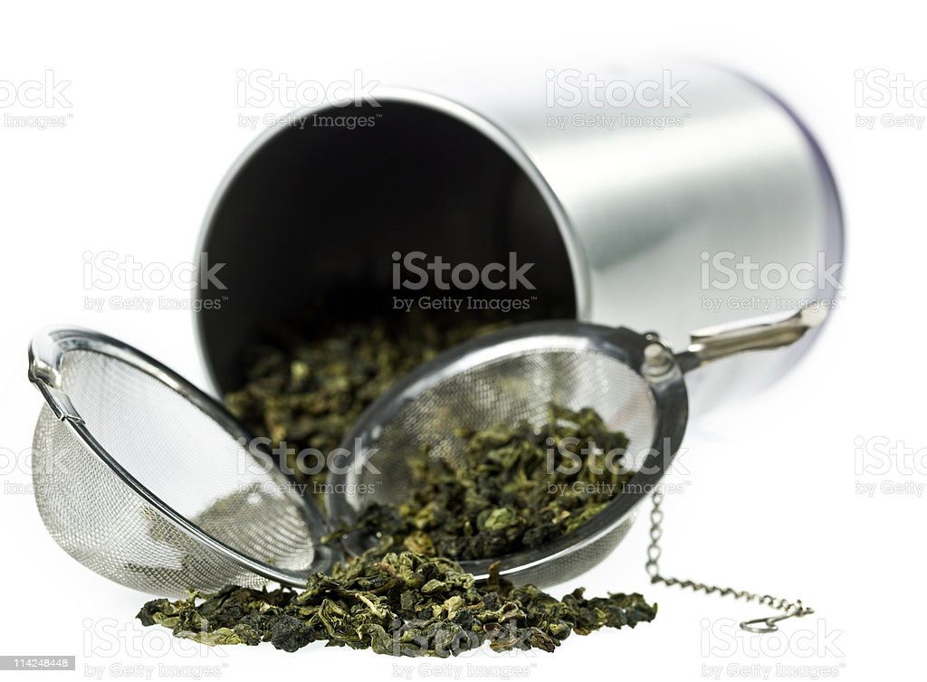 Monkey picked Oolong Tea royalty-free stock photo