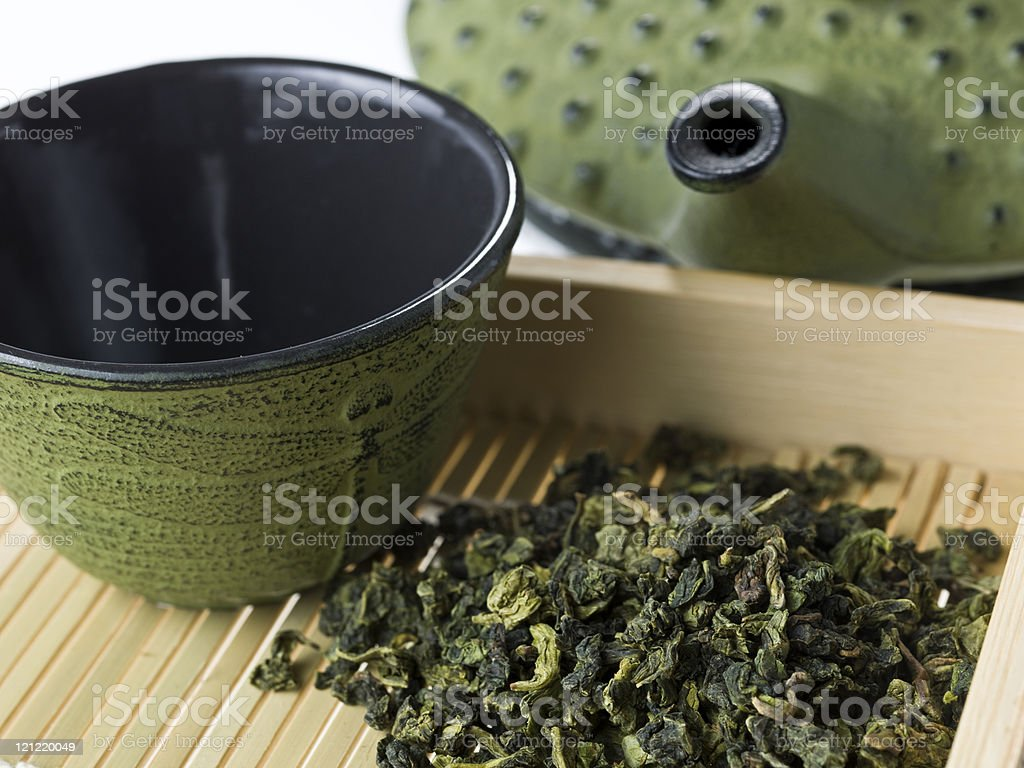 Monkey Picked Oolong tea stock photo