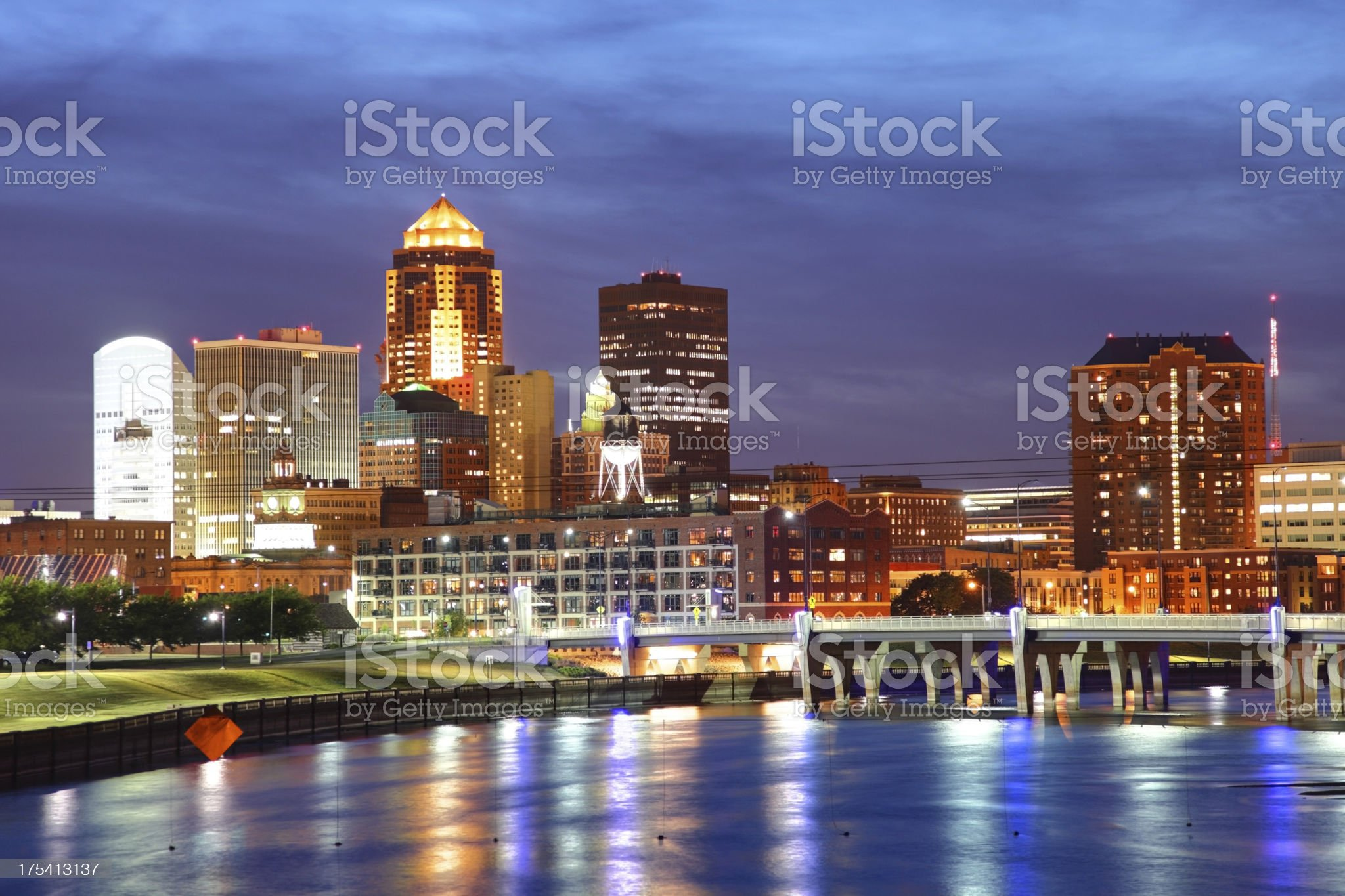 Des Moines royalty-free stock photo