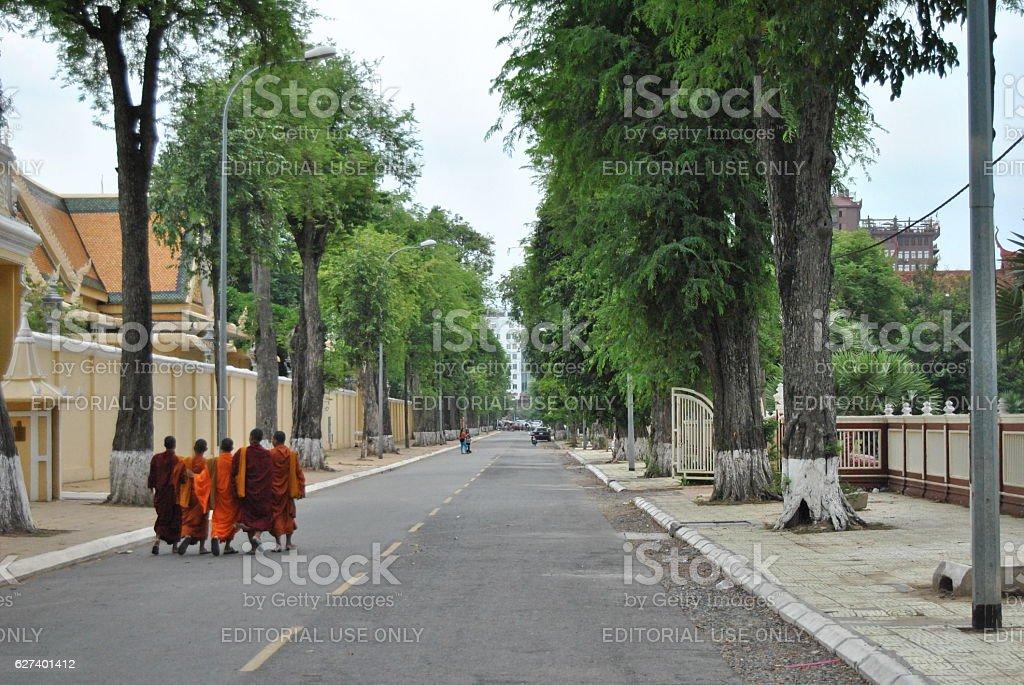 Buddisti foto stock royalty-free