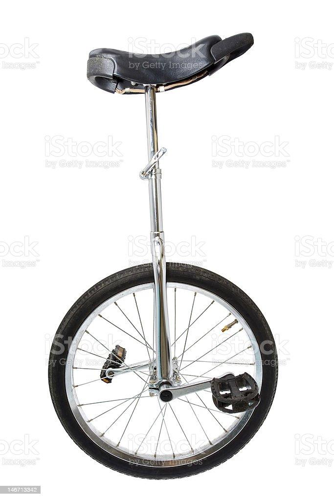 Mono cycle on white stock photo