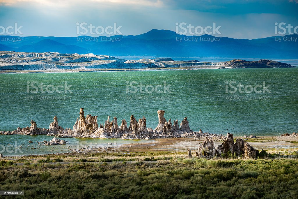 Mono Lake California stock photo