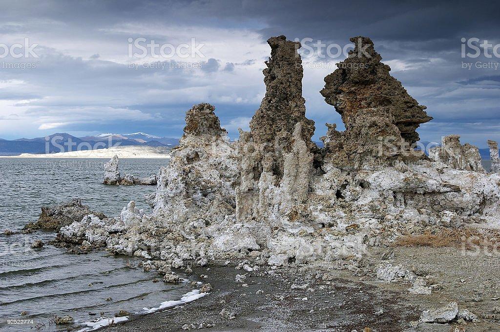 Mono Lake formations I stock photo