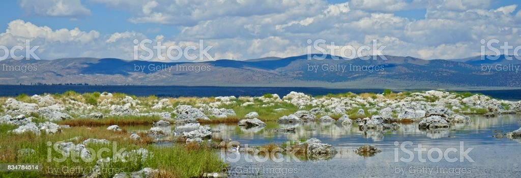 Mono Lake Level stock photo