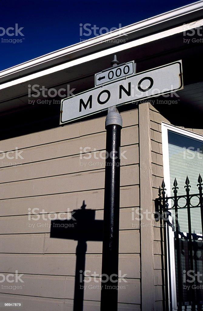 Mono St, San Francisco, CA stock photo