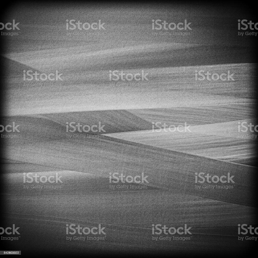 Monochromatic vignette stock photo