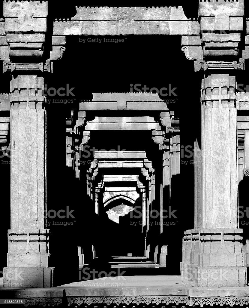 Monochrome- Dada Hari ni Vav stock photo