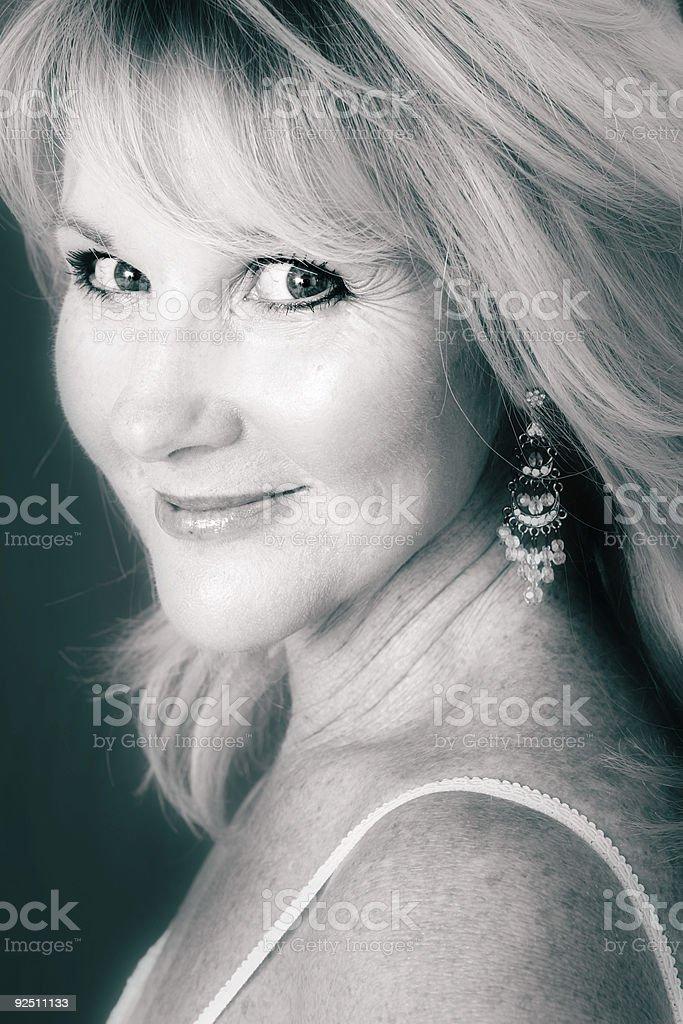 Monochrome Glamour stock photo