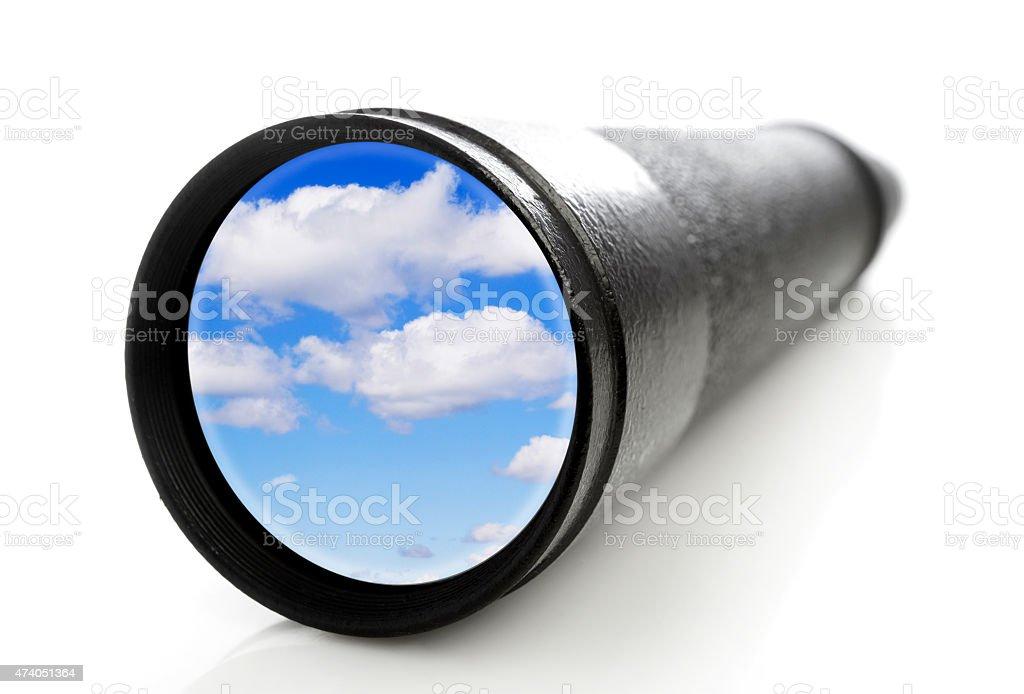 Monocle stock photo