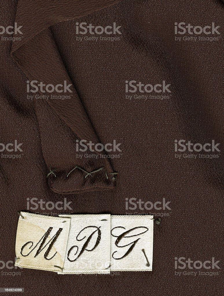 Monogram royalty-free stock photo
