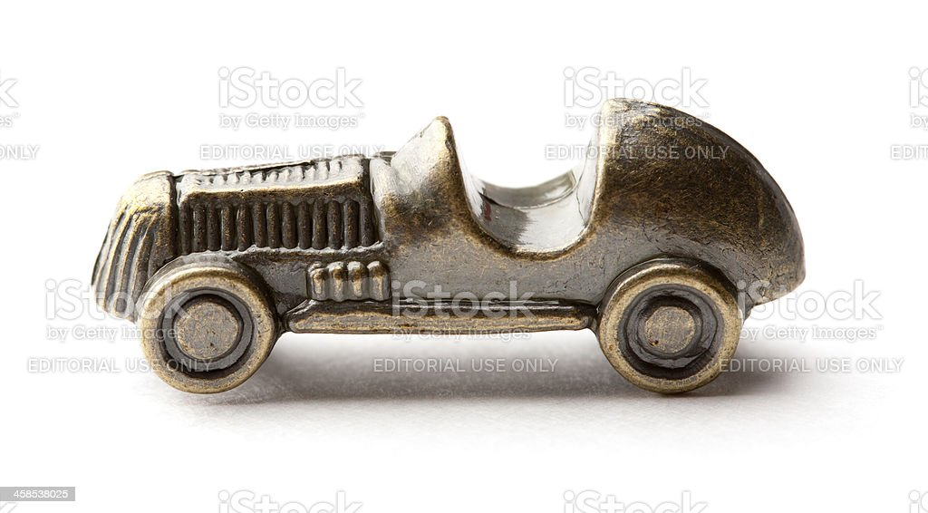 Monopoly Car Game Piece stock photo