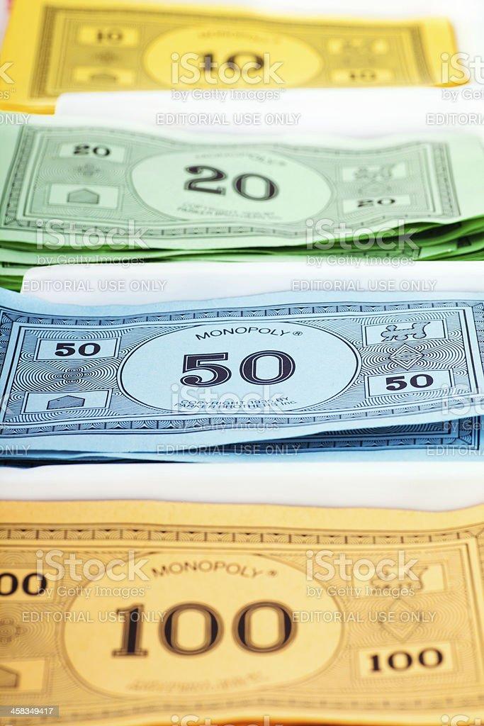 Monopoly Game Money royalty-free stock photo