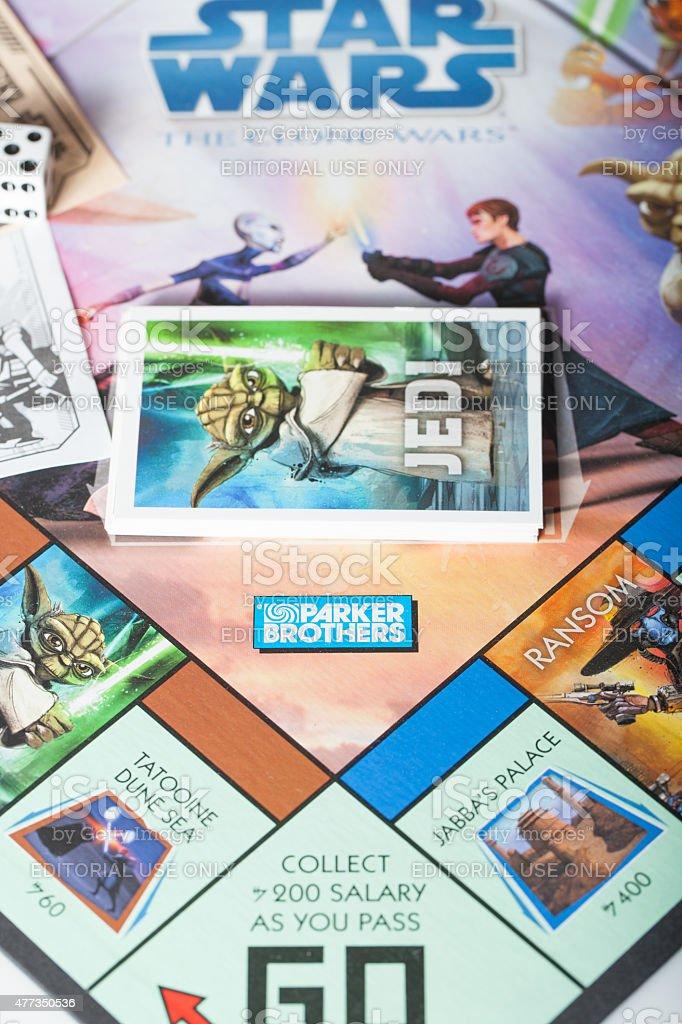 Monopoly Jedi stock photo