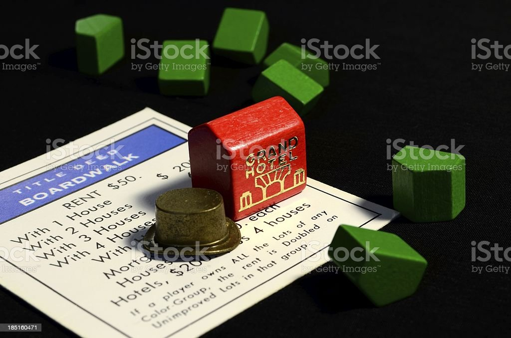 Monopoly stock photo