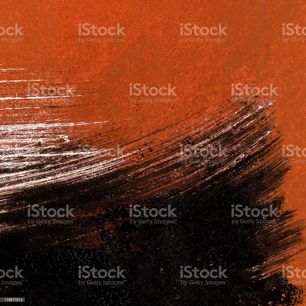 Monoprint wallpaper stormy weather royalty-free stock photo