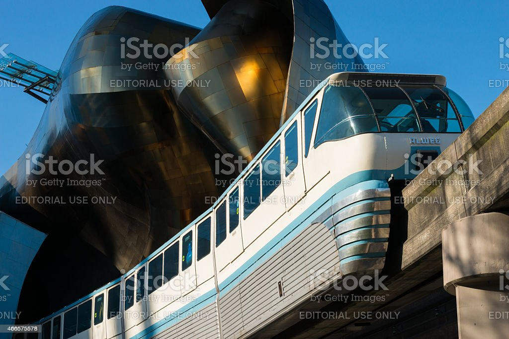Monorail stock photo
