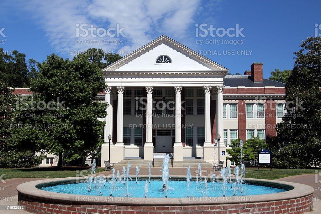 Monroe Hall - UMW stock photo