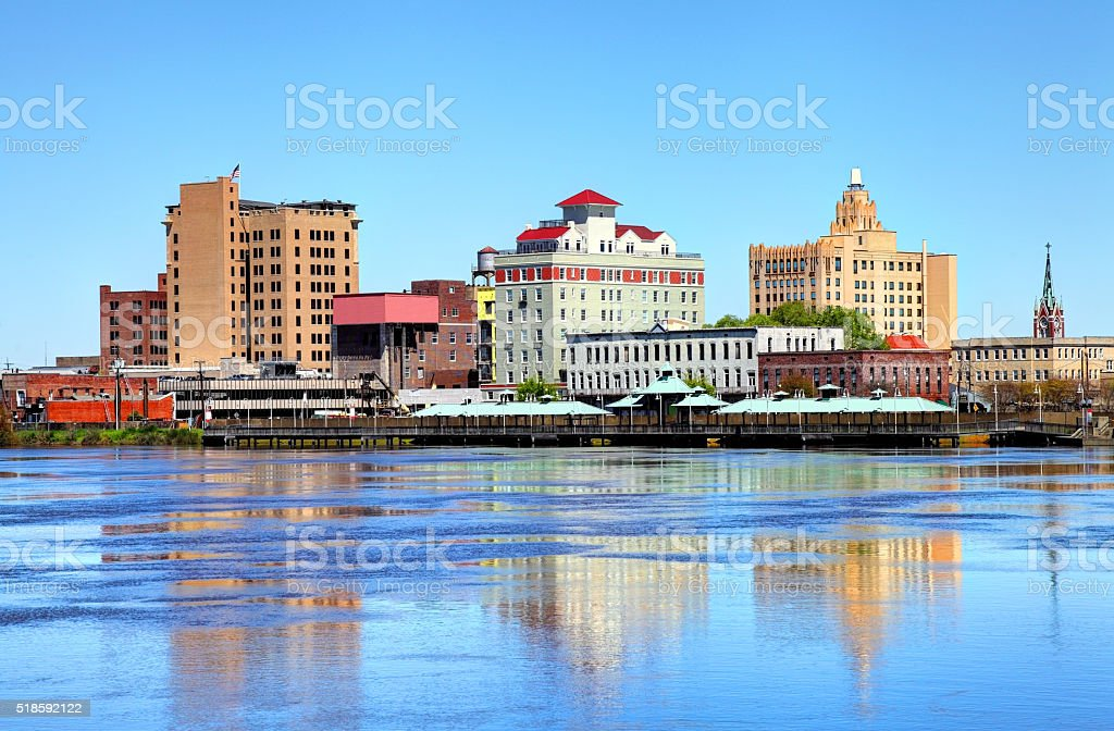 Monroe, Louisiana stock photo