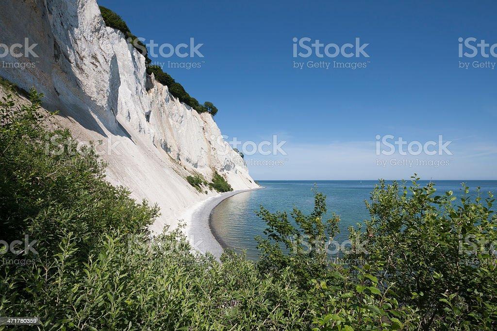 Mons Klint (Denmark) stock photo