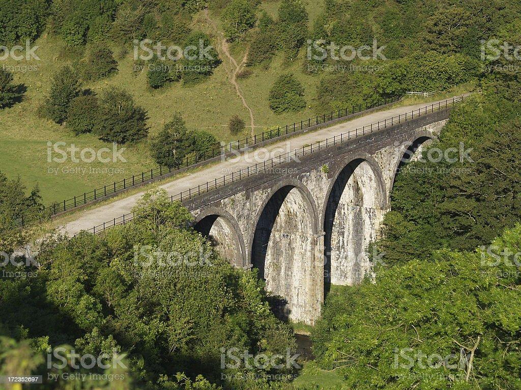 Monsal Viaduct stock photo