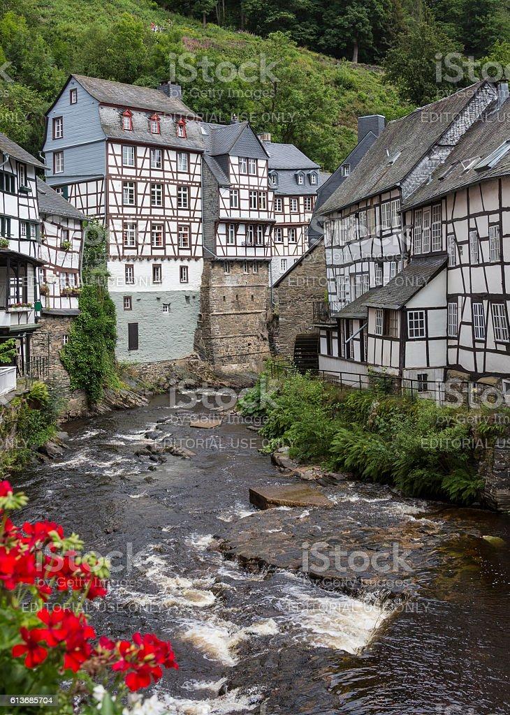 Monschau - Eifel Nature Park - Germany stock photo