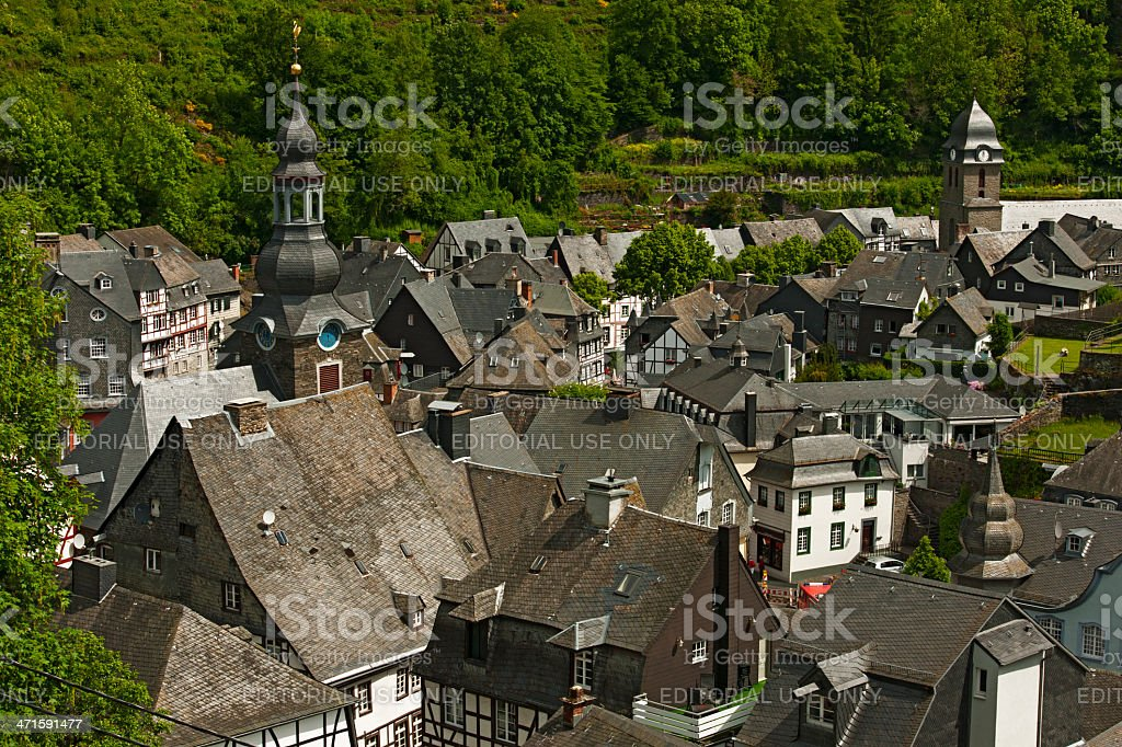 Monschau, Germany royalty-free stock photo