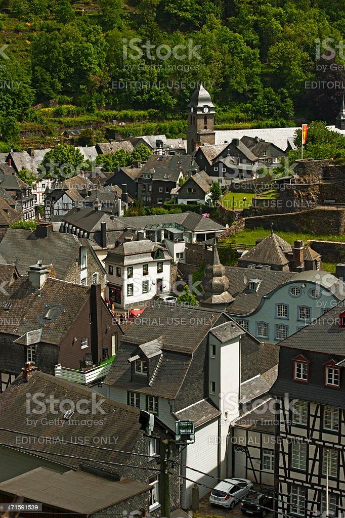 Monschau, Germany royalty-free stock photo