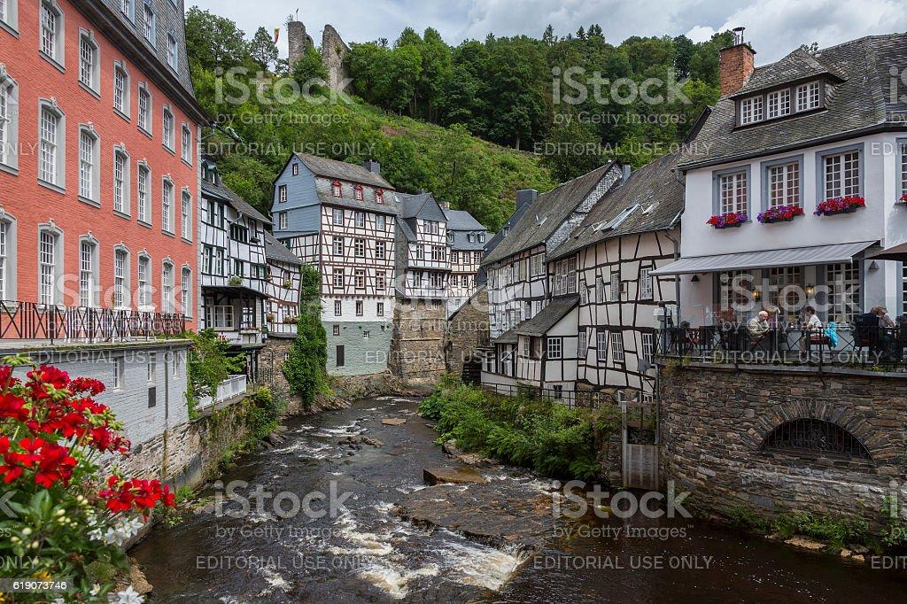 Monschau - Germany stock photo