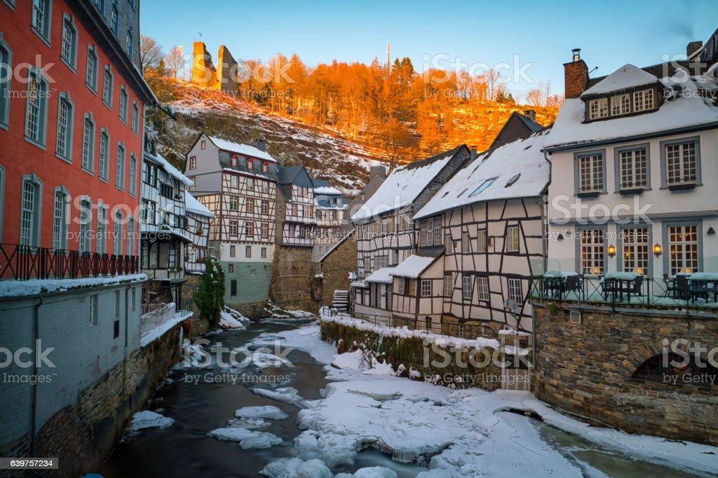 Monschau stock photo