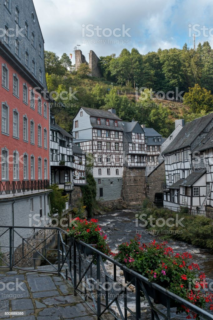 Monschau stock photo
