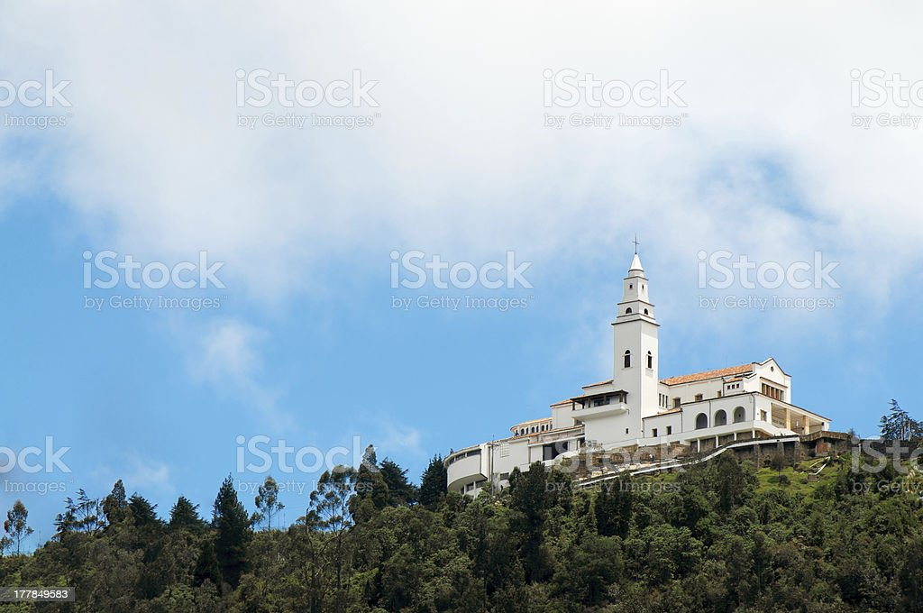 Monserrate Church stock photo
