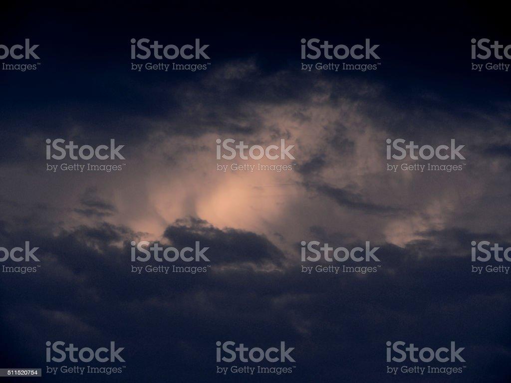 Monsoon Clouds stock photo