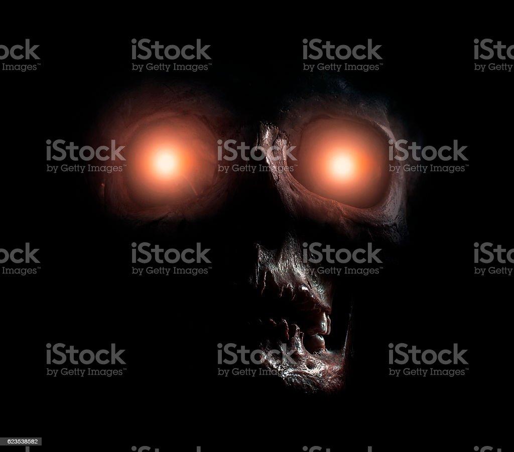 Monster alien creature stock photo