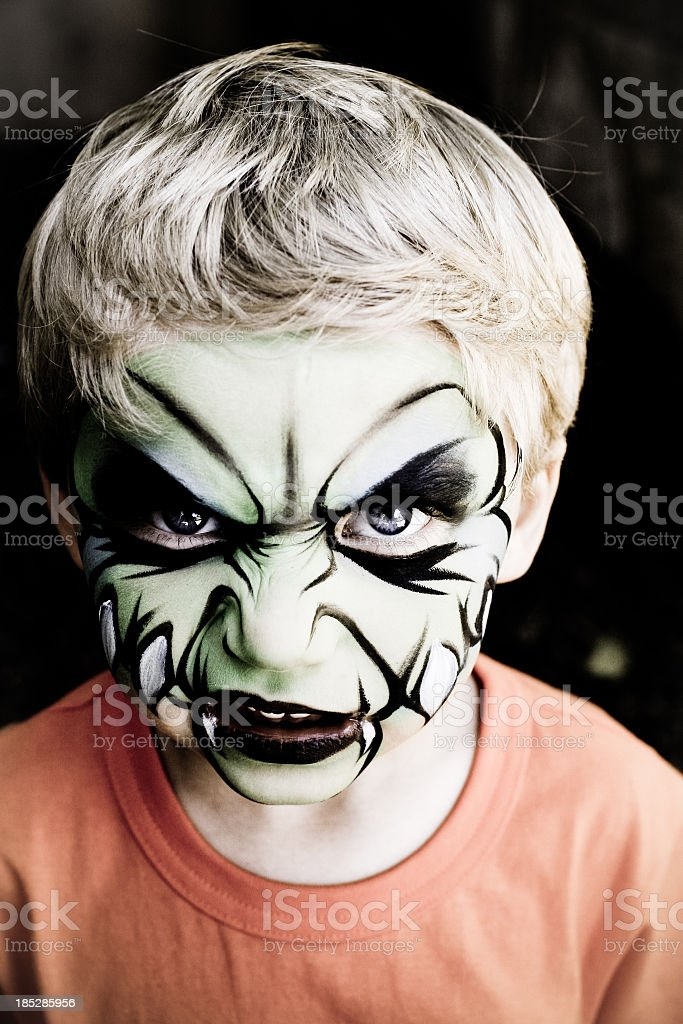 Monster Child royalty-free stock photo