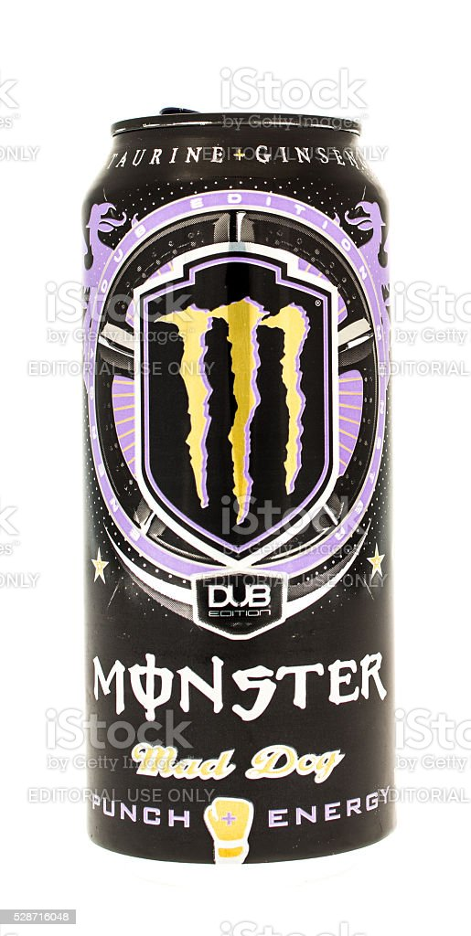 Monster Drink stock photo