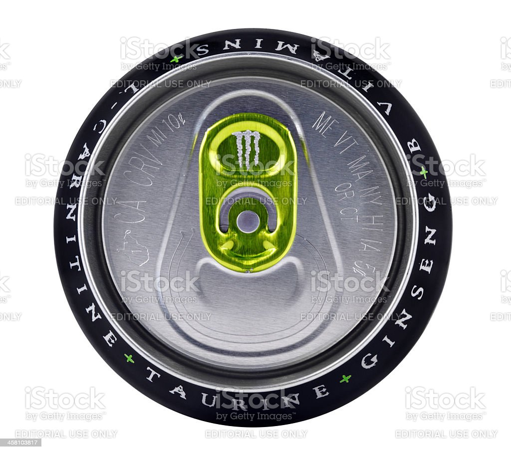 Monster Energy Drink royalty-free stock photo
