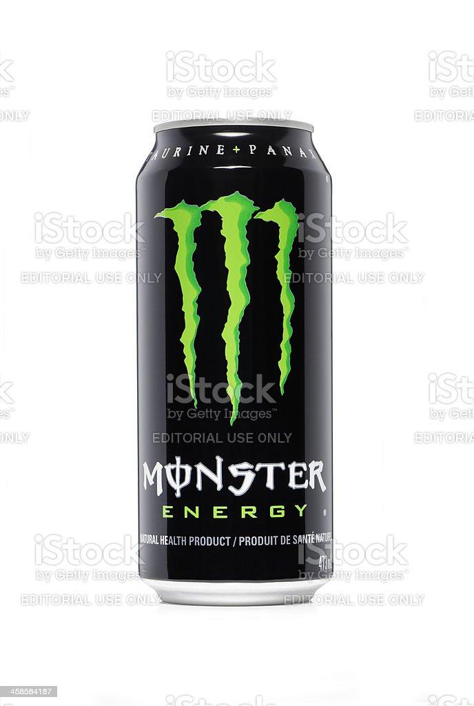 Monster energy drink stock photo